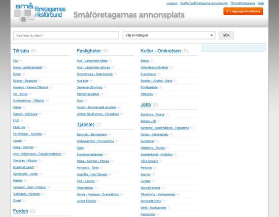 Annonsplats - Småföretagarnas Riksförbund
